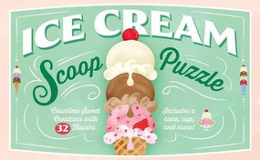 Ice Cream Scoop Puzzle (Countless Sweet Creations with 32 Flavors) by Chronicle Books, Sarah Ferone, 9781452155913