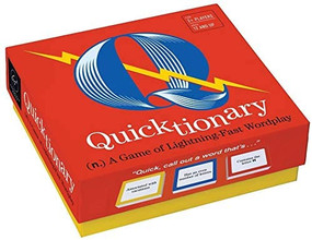 Quicktionary (A Game of Lightning-fast Wordplay) by Forrest-Pruzan Creative, 9781452159218