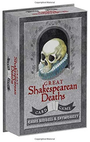 Great Shakespearean Deaths Card Game (Miniature Edition) by Chris Riddell, Spymonkey, 9781452162478