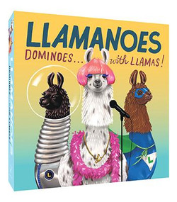 Llamanoes (Dominoes . . . with Llamas! (Llama Card Game for Kids, Board Game for Children)) by Chronicle Books, Shyama Golden, 9781452163710