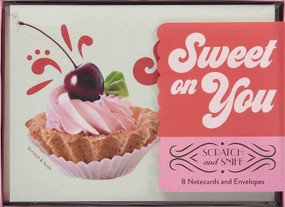 Sweet on You: Scratch and Sniff (8 Notecards and Envelopes (Tactile Gifts, Cute Desk Supplies, Gifts for Girls)) by Chronicle Books, 9781452167640