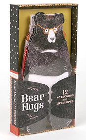 Bear Hugs: 12 Notecards and Envelopes ((Cute Notecards, Notecards for Friends, Artistic Notecards with Envelopes)) by Chronicle Books, 9781452168616