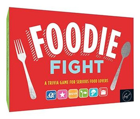 Foodie Fight (Trivia Game for Adults, Family Trivia Games, Gift for Food Lovers) (A Trivia Game for Serious Food Lovers (Board Game for Adults Who Love Food; Food Trivia; Foodie Games)) by Joyce Lock, 9781452169477
