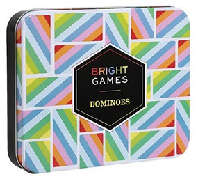 Bright Games Dominoes ((Dominoes Set, Dominoes Game, Family Game Night Games)) by Chronicle Books, 9781452172996