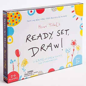 Ready, Set, Draw! (A Game of Creativity and Imagination (Drawing Game for Children and Adults, Interactive Game for Preschoolers to Kids Ages 5-6)) by Herve Tullet, 9781452175638