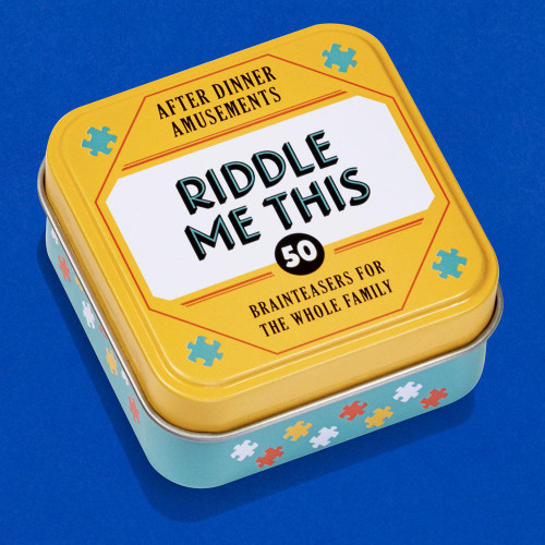 After Dinner Amusements: Riddle Me This (50 Brainteasers for the Whole Family (Dinner Party Gifts, Games for Adults, Games for Dinner Parties)) (Miniature Edition) by Chronicle Books, 9781452178257