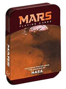 Mars Playing Cards (Featuring photos from the archives of NASA (Space Playing cards, Poker Playing Cards, Adult and Kids Playing Cards)) (Miniature Edition) by Chronicle Books, NASA, 9781452181103