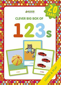 123s (Memory flash cards) by Svetlana Shendrik, Clever Publishing, 9781948418416