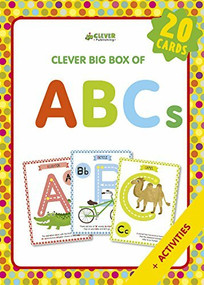 ABCs (Memory flash cards) by W. Harry Kim, Clever Publishing, 9781948418423