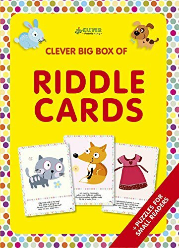 Riddle Cards (Memory flash cards) by Ekaterina Elkina, Clever Publishing, 9781948418447