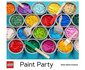 LEGO Paint Party Puzzle by LEGO, 9781452179704