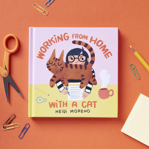 Working from Home with a Cat by Heidi Moreno, 9781797205465
