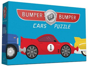 Bumper-to-Bumper Cars Puzzle by Chronicle Books, 9781452134765