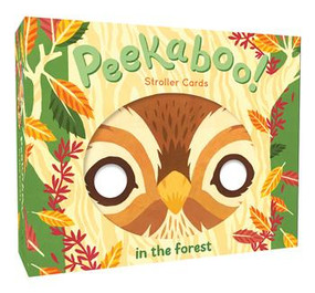 Peekaboo! Stroller Cards: In the Forest by Robie Rogge, Teagan White, 9781452153841