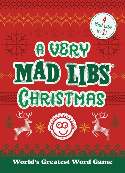 A Very Mad Libs Christmas (4 Mad Libs in One!) by Mad Libs, 9780593382578