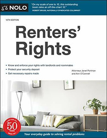 Renters' Rights - 9781413328226 by Janet Portman, Ann O'Connell, 9781413328226