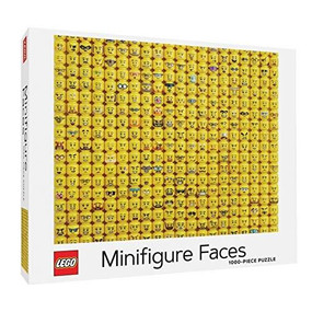 LEGO Minifigure Faces Puzzle by LEGO, 9781797210193