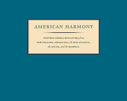 American Harmony (Inspired Choral Miniatures) by Nym Cooke, 9781567925593