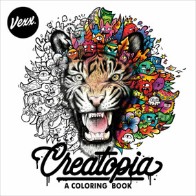 Creatopia (A Coloring Book) by Vexx, 9780593330302