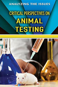 Critical Perspectives on Animal Testing by Kimberly Coates, 9781978503267