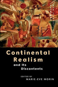 Continental Realism and Its Discontents - 9781474444101 by Marie-Eve Morin, 9781474444101