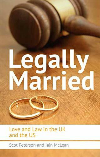 Legally Married (Love and Law in the UK and the US) - 9780748683789 by Scot Peterson, 9780748683789