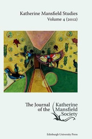 Katherine Mansfield and the Fantastic (Katherine Mansfield Studies, Volume 4) by Gina Wisker, Delia da Sousa Correa, Gerri Kimber, Susan Reid, 9780748684731