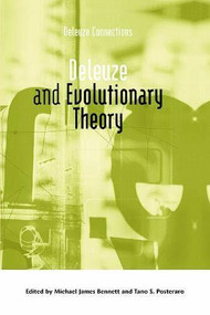 Deleuze and Evolutionary Theory - 9781474430494 by Michael James Bennett, Tano S. Posteraro, 9781474430494