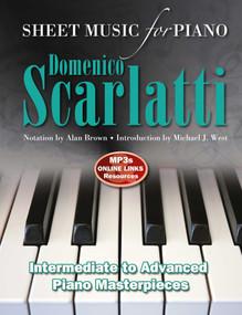 Domenico Scarlatti: Sheet Music for Piano (Intermediate to Advanced) by Alan Brown, Michael J. West, 9781787557796