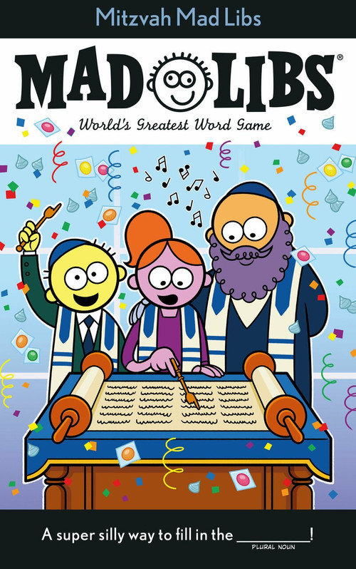 Mitzvah Mad Libs by Irving Sinclair, 9780593222621