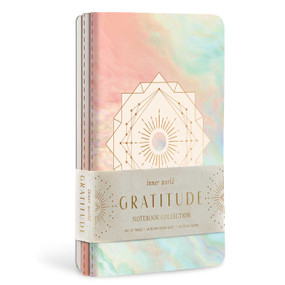 Gratitude Sewn Notebook Collection (Set of 3) by Insight Editions, 9781647220846