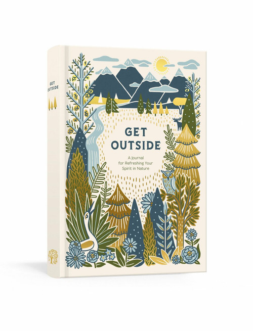 Get Outside (A Journal for Refreshing Your Spirit in Nature) by Ink & Willow, 9780525654070