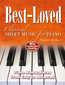 Best-Loved Classical Sheet Music for Piano (From Easy to Advanced) by Alan Brown, 9781839641473