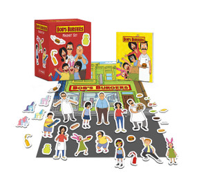 Bob's Burgers Magnet Set (Miniature Edition) by Robb Pearlman, 9780762473786