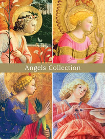 Angels Deluxe Full Note Cards by Galison, 9780735337886