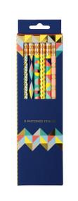 Geometric Pastel Pencil Set by Galison Publishing, 9780735343702