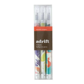 Adrift Everyday Pen Set (Miniature Edition) by Galison, Natalie Stopka, 9780735348097