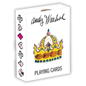 Andy Warhol Playing Cards (Miniature Edition) by Mudpuppy, Andy Warhol, 9780735349278
