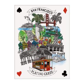 San Francisco Playing Cards (Miniature Edition) by Galison, Hennie Haworth, 9780735359192