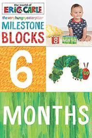 The World of Eric Carle (TM) The Very Hungry Caterpillar (TM) Milestone Blocks ((Milestone Gift for Parents, Very Hungry Caterpillar)) by Eric Carle, 9781452165363
