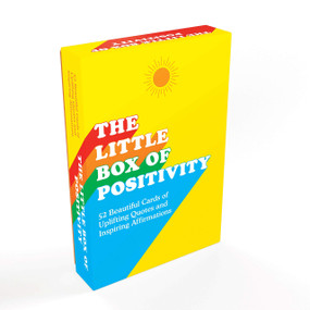 The Little Box of Positivity (52 beautiful cards of uplifting quotes and inspiring affirmations) by Summersdale, 9781787833340