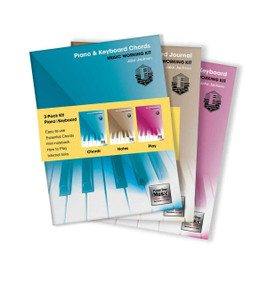3-Book Music Working Kit for Piano & Keyboard by Jake Jackson, 9781839642227