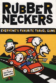 Rubberneckers: Everyone's Favorite Travel Game - A Fun and Entertaining Road Trip Game for Kids, Great for Ages 8+ - Includes a Full Set of Travel-Ready Game Cards for 2+ Players (Miniature Edition) by Robert Zimmerman, Matthew Lore, Mark Lore, 9780811822176