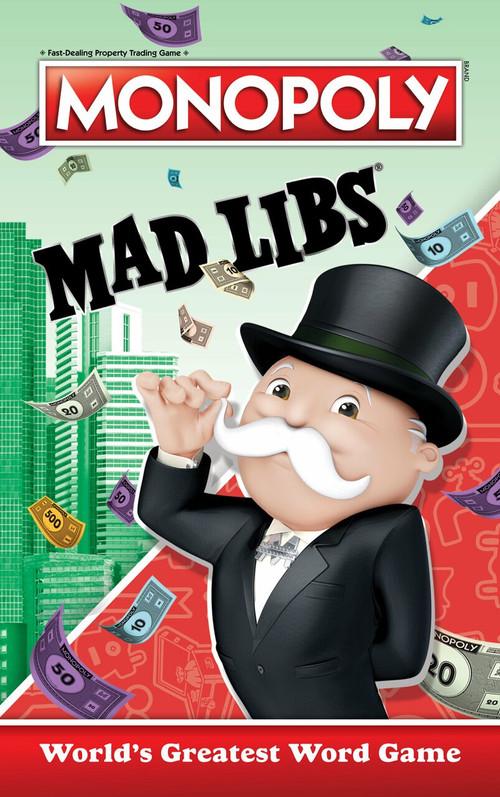 Monopoly Mad Libs by Gabriella DeGennaro, 9780593225868