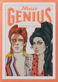 Genius Music (Genius Playing Cards) (Miniature Edition) by Rik Lee, 9781786270153