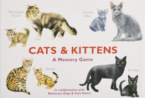 Cats & Kittens (A Memory Game) (Miniature Edition) by Marcel George, 9781786271549
