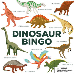 Dinosaur Bingo ((An easy-to-play game for children and families)) by Caroline Selmes, 9781786272416