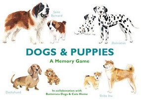 Dogs & Puppies (A Memory Game) (Miniature Edition) by Marcel George, Emma Aguado, 9781786272744