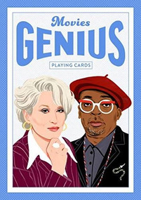 Genius Movies (Genius Playing Cards) (Miniature Edition) by Bijou Karman, 9781786277121