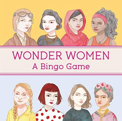 Wonder Women Bingo by Laura Bernard, 9781786277435